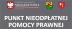 baner prowadzący do strony z informacją o punkcie nieodpłatnej pomocy prawnej