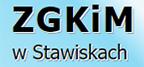 baner prowadzący do strony Zakładu Gospodarki Komunalnej i Mieszkaniowej w Stawiskach